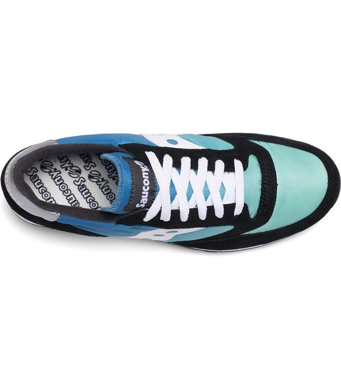 Compra online Zapatillas Saucony Jazz Fade Hombre Black Blue Green en oferta al mejor precio