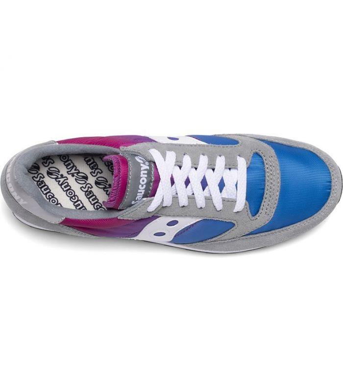 Compra online Zapatillas Saucony Jazz Fade Hombre Grey Blue Pink en oferta al mejor precio