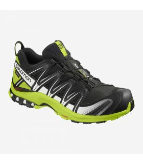Zapatillas trail running Salomon Xa Pro 3D GTX Hombre Black Lime Green