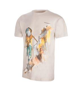 Camiseta Trangoworld Rockclimber Hombre Vapor Blue