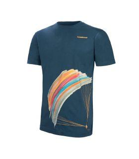 Camiseta Trangoworld Parapente Hombre Majolica Blue. Oferta y Comprar online