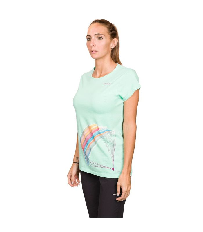 Compra online Camiseta Trangoworld Parapente WM Mujer Cabbage en oferta al mejor precio