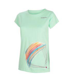 Camiseta Trangoworld Parapente WM Mujer Cabbage. Oferta y Comprar online