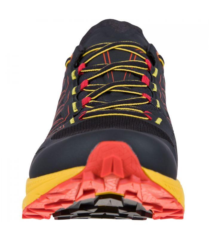 Compra online Zapatillas La Sportiva Jackal Hombre Black Yellow en oferta al mejor precio
