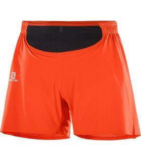 Pantalones Salomon Sense Pro Hombre Rojo