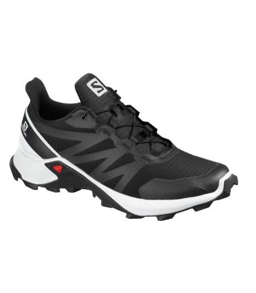 Zapatillas Salomon Supercross Hombre Black White