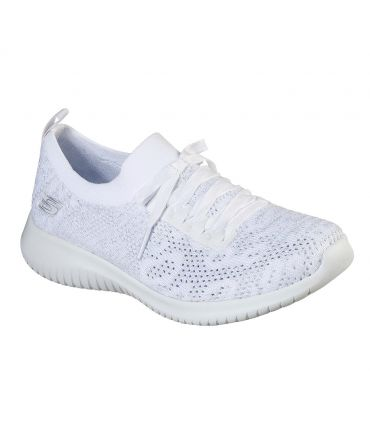 Zapatillas Skechers Ultra Flex Windy Sky Mujer White