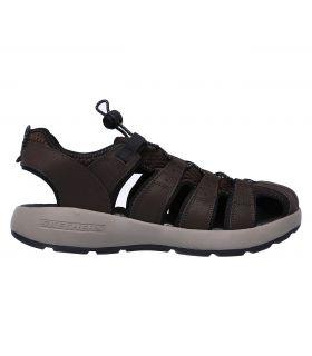 Sandalias Skechers Melbo Journeyman Hombre Brown. Oferta y Comprar online