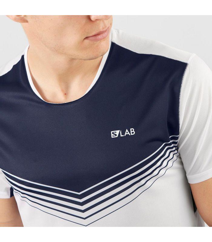 Compra online Camiseta Salomon S-Lab Sense Tee Hombre Blanco en oferta al mejor precio