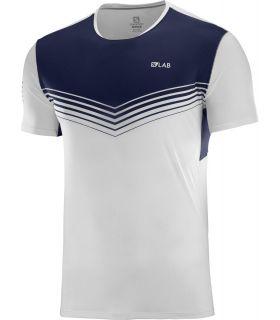 Camiseta Salomon S-Lab Sense Tee Hombre Blanco. Oferta y Comprar online