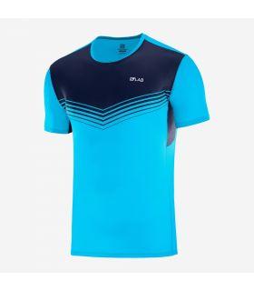 Camiseta Salomon S-Lab Sense Tee Hombre Transcend Blue. Oferta y Comprar online