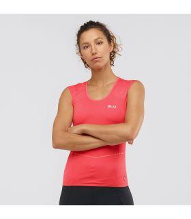 Camiseta Salomon SLab Nso SL Tee Mujer Cayenne. Oferta y Comprar online