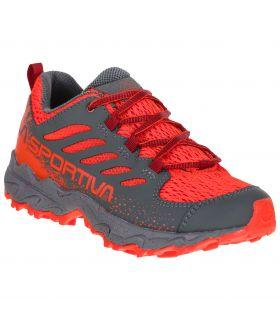 Zapatillas La Sportiva Jynx 27-35 gris-rojo Niños. Oferta y Comprar online