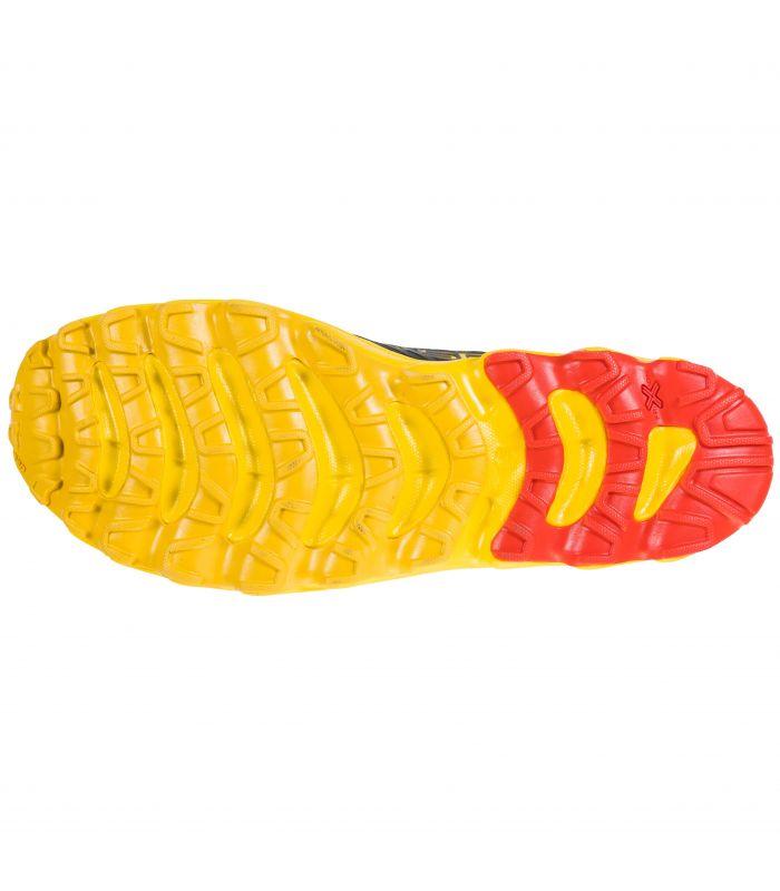 Compra online Zapatillas La Sportiva Helios SR Negro-Amarillo Hombre en oferta al mejor precio