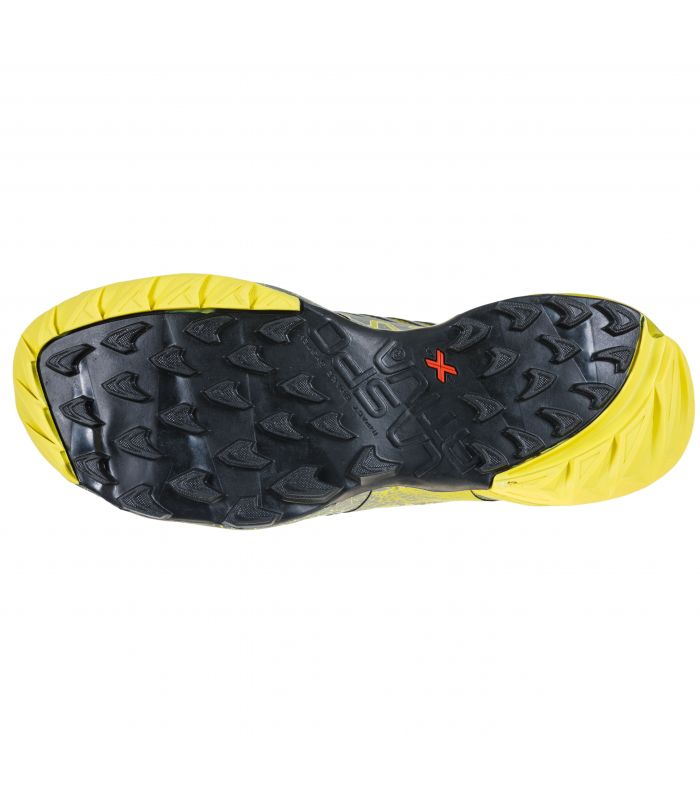 Compra online Zapatillas La Sportiva Akasha Gris-Verde Hombre en oferta al mejor precio