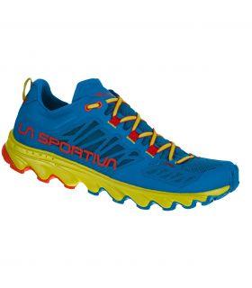 Zapatillas La Sportiva Helios III Azul-Rojo Hombre. Oferta y Comprar online