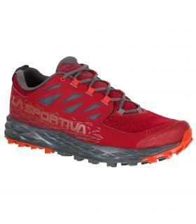 Zapatillas La Sportiva Lycan II Rojo-gris Hombre. Oferta y Comprar online