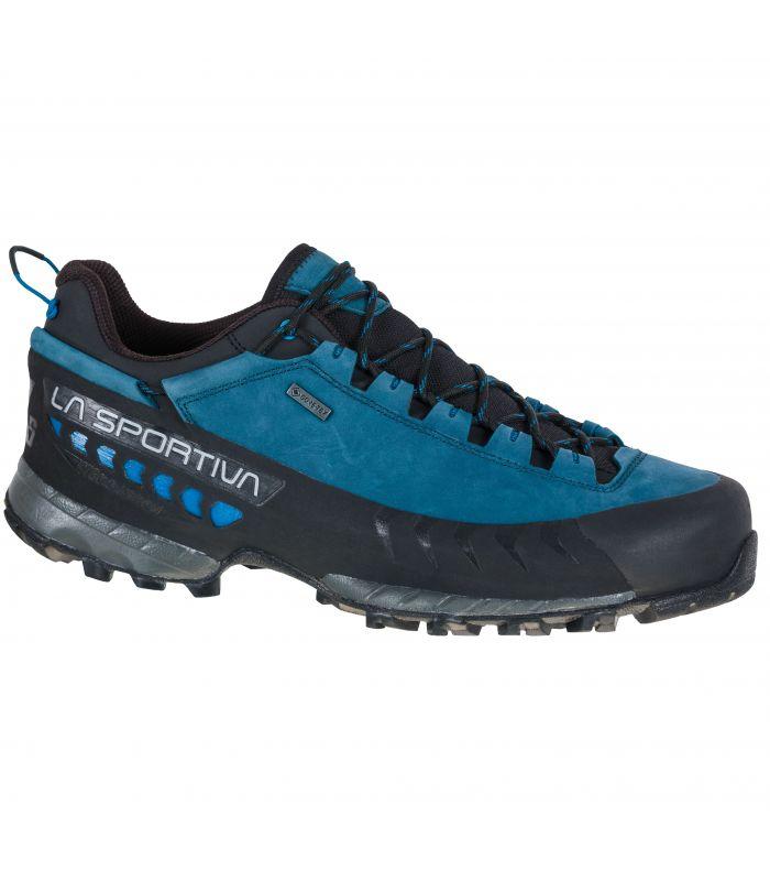 Compra online Zapatillas La Sportiva Tx5 Low Gtx Azul-Gris Hombre en oferta al mejor precio
