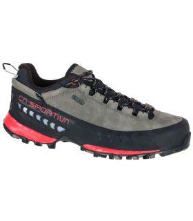 Zapatillas La Sportiva Tx5 Low Gtx Gris-Rosa Mujer. Oferta y Comprar online