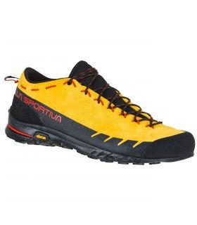 Zapatillas La Sportiva TX2 Leather Negro-Amarillo Hombre. Oferta y Comprar online