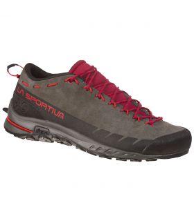 Zapatillas La Sportiva TX2 Leather marron-rojo Mujer. Oferta y Comprar online