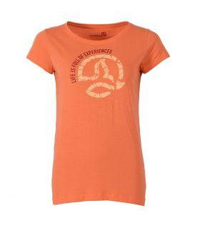 Camiseta Ternua Luzon Mujer Grapefruit. Oferta y Comprar online