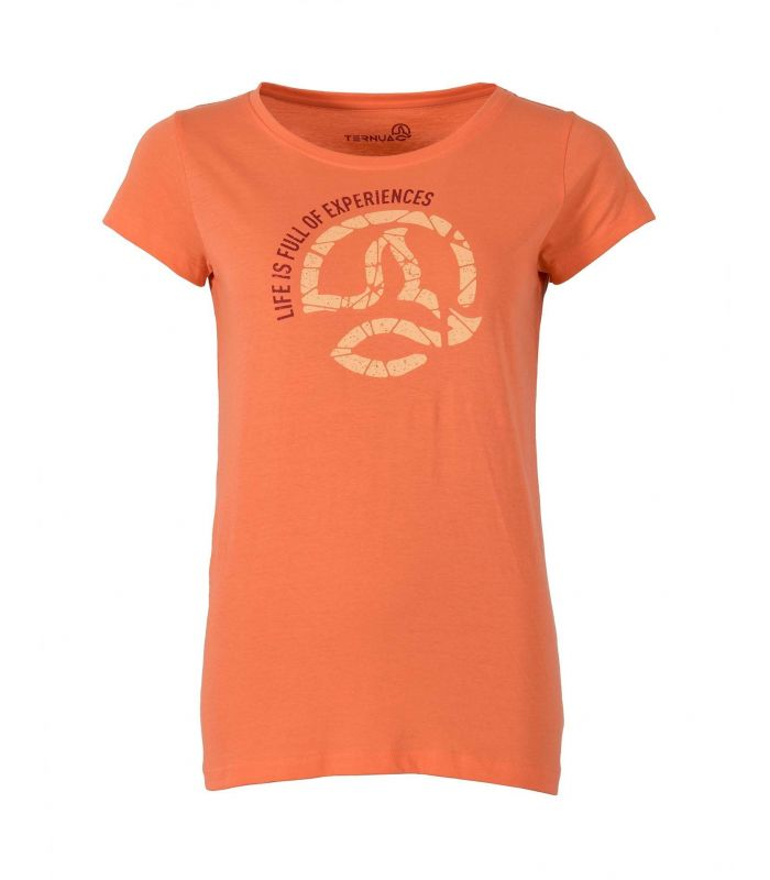Compra online Camiseta Ternua Luzon Mujer Grapefruit en oferta al mejor precio