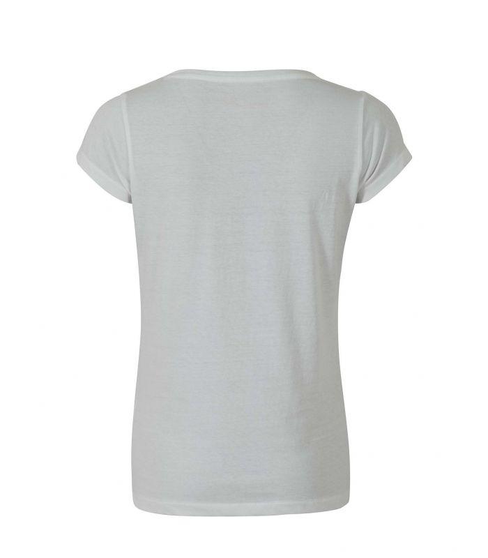 Compra online Camiseta Ternua Luzon Mujer White en oferta al mejor precio