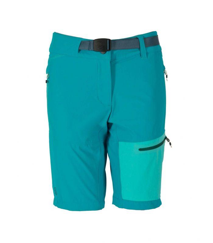 Compra online Bermuda Ternua Mika Mujer Deep Curacao en oferta al mejor precio