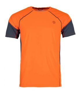 Camiseta Ternua Tipas Hombre Orange Red