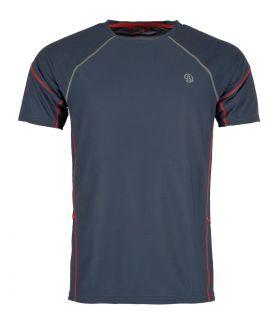 Camiseta Ternua Tipas Hombre Whales Grey. Oferta y Comprar online