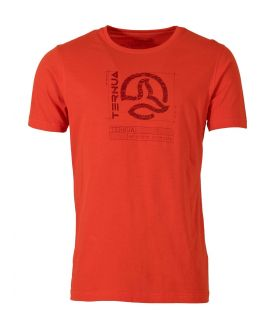 Camiseta Ternua Maranao Hombre Orange Red