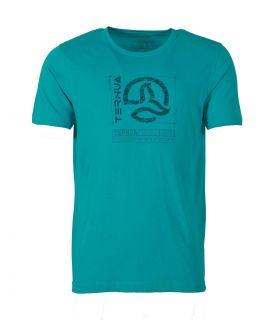 Camiseta Ternua Maranao Hombre Deep Curacao. Oferta y Comprar online