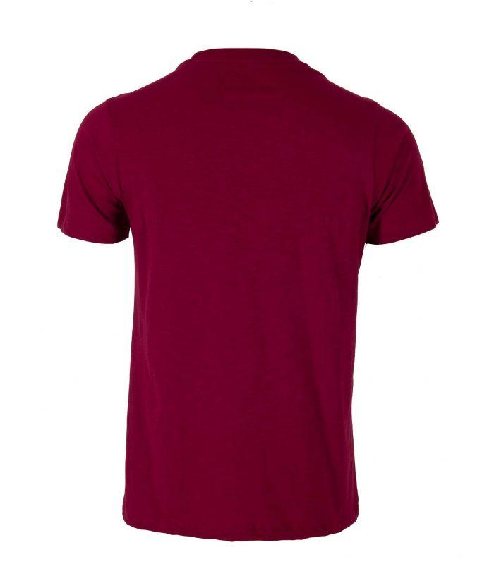 Camiseta Ternua Tausug Hombre Burgundy