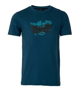 Camiseta Ternua Tausug Hombre Dark Lagoon
