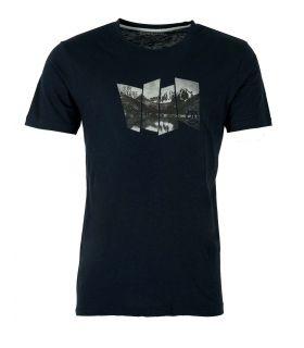 Camiseta Ternua Tausug Hombre Whales Grey. Oferta y Comprar online