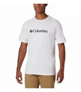 Camiseta Columbia CSC Basic Logo Hombre White