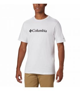 Camiseta Columbia CSC Basic Logo Hombre White. Oferta y Comprar online