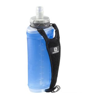 Botella Salomon Active Handheld Black