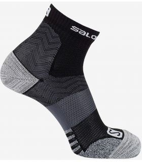 Calcetines Salomon Outpath Low Negro Hierro Forjado