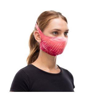 Mascarilla con filtro Buff Keren Flash Pink. Oferta y Comprar online