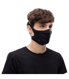 Mascarilla con filtro Buff Solid Black