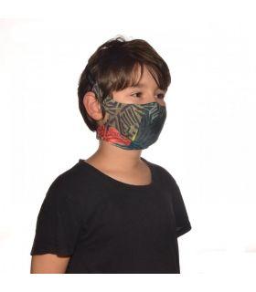 Mascarilla con filtro Buff Stony Green Niños