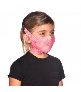 Mascarilla con filtro Buff Nympha Pink Niños