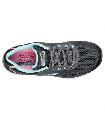 Zapatillas Skechers Flex Appeal 3.0 Steady Mujer Charcoal