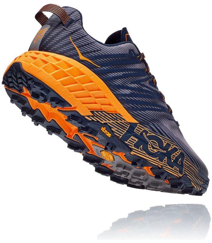 Compra online Zapatillas Hoka Speedgoat 4 Hombre Black Iris Brig en oferta al mejor precio