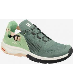 Zapatillas Salomon Tech Amphib 4 Mujer Bálsamo Verde. Oferta y Comprar online