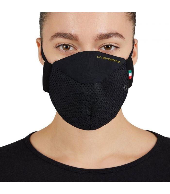 Compra online Mascarilla La Sportiva Stratos Mask Negro en oferta al mejor precio