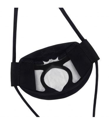 Mascarilla facial La Sportiva Stratos Negro