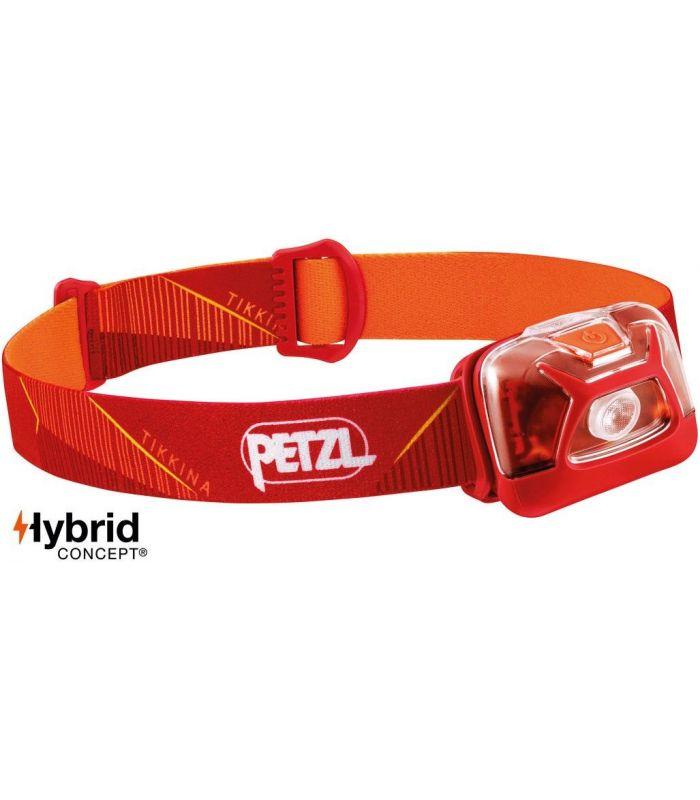 Compra online Frontal Petzl Tikkina Rojo en oferta al mejor precio